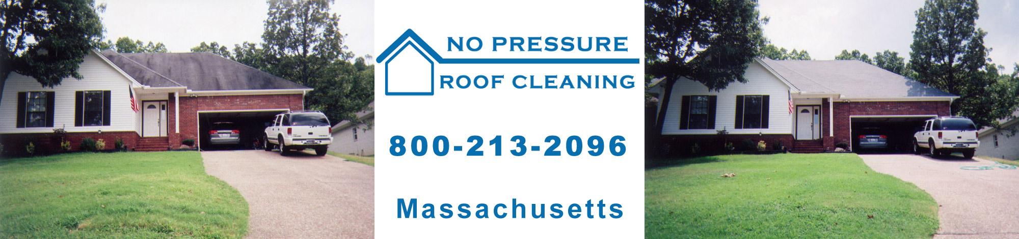 NoPressureRoofCleaning Massachusetts Banner